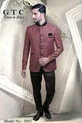 Full Sleeve Maroon Jodhpuri Suit