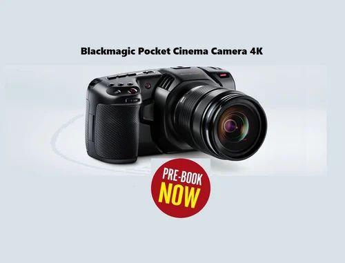 New Blackmagic Pocket Cinema Camera 4k At Rs 118000 Unit Chennai Id 19800968330