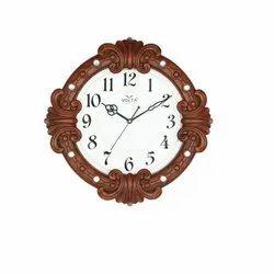 Volta Plastic V 1197 Showrooms Round Wall Clocks, Size: 340x340x50 mm