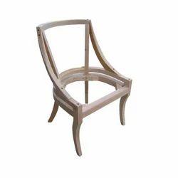 Brown B2 Furniture Wooden Chair Frame
