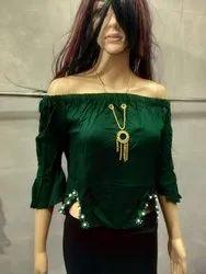Zadine  Designer 140gms Heavy Rayon Top For Women