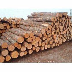 Natural Hardwood Log