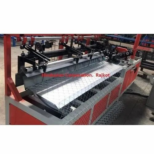 Semi Automatic Chain Link Fence Making Machine