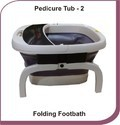 Pedicure Folding Foot Bath