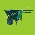 Double Wheel Material Handling Trolley