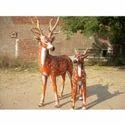 Frp Deer Statue, For Exterior Decor