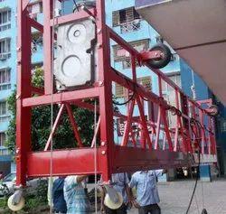 Rope Platform Hoist