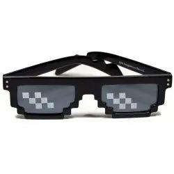 Unisex Thug Life Framed Sunglasses, Size: Free