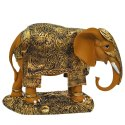2 No Brown Elephant Statue