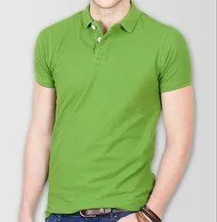 Mens Half Sleeve Polo T Shirt