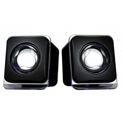 Bluetooth Black Terabyte Mini USB 2.0 Speaker, 3W