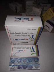 Trypsin Bromelain Rutoside Trihydrate & Diclofenac Sodium Tablets