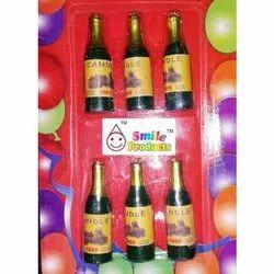 Joyful Happy Birthday Etched Bottle