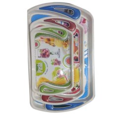 Plastic Serving Tray, Size: M, Also Available In S And L