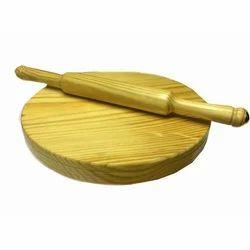 Brown Wooden Chakla Belan, Usage: Home, Restaurant Kitchen