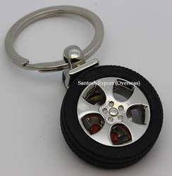 Tyre Key Ring
