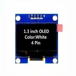 Oled Display 1.3 Inch 4 Pin 128 68 White Module