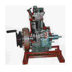 Jainco Cut Sectional Model of 2 Stroke Engine