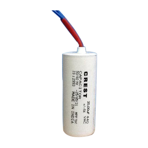 Motor Capacitor - Motor Start Capacitor Manufacturer from Bhopal