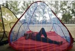 Stripe Style Mosquito Net For Outdoor Garden, Size: 6x 6