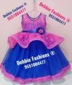 Party Wear Blue Kids Ball Gowns