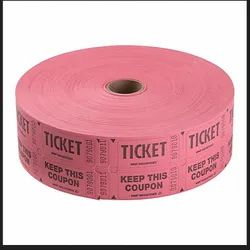 Printed Paper Roll Ticket, GSM: 70-155