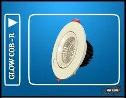COB Downlight 10 Watt Glow Model Round