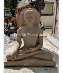 Sandstone Sarnath Buddha Statue