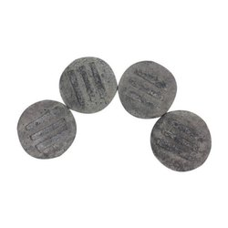 Handmade Dark Grey Coasters