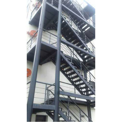 Mild Steel Galvanized Staircase