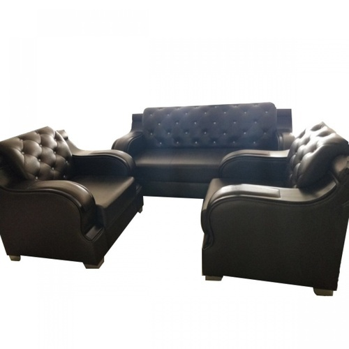 Wooden 5 Seater Sofa