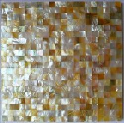 Golden Mother Pearl Mosaic Tile