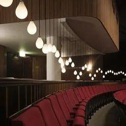 Theater 3D Interior Designing