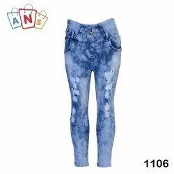 Denim Slim Ladies Ripped Stretchable Jeans