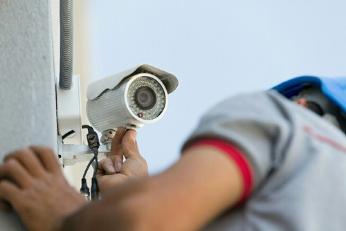 Image result for security camera installation