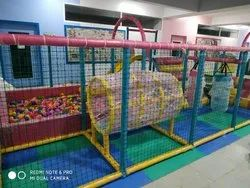 Ball Pool Net Tunnel