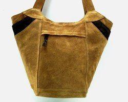 Designer Leather Executive Tote Bag