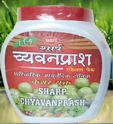 Sharp Special Chayawanpras With Saffron In Pack Of 1 Kg., 500 Grams And 250 Grams.