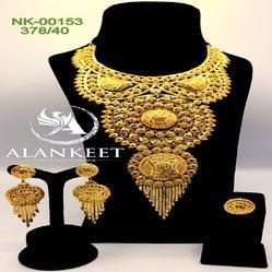 Designer Gold Plated Necklace Jewellery Bijoux