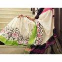 Pochampally Double Ikkat Silk Saree