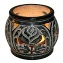 Black Soapstone Oil Burner