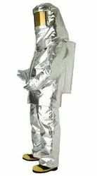 Silver Fire Proof Furnace Suit