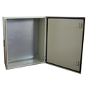Silver Mild Steel Stambh Electrical Panel Box
