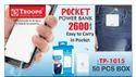 Troops Tp- 1015 2600mah Power Bank Pocket