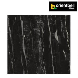 Orientbell SUPER GLOSS NEGRO MARBLE Tiles, Size: 600X600 mm