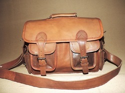Heavy Duty Leather Shoulder Bag