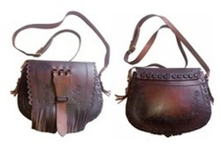 Handmade Leather Medieval Bag
