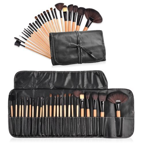 24 Pc Professional Makeup Brushes With