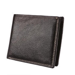 Gents Wallet Leather NDM BL 2 Stich