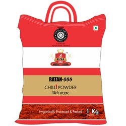 Ratan 555 Chilli Powder, Packaging Size: 1 Kg, Packaging Type: PP Bag